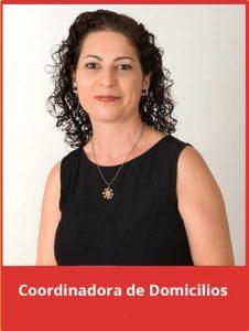 Pilar Cercos, coordinadora de domicilios