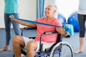 servicios de fisioterapeuta profesional: vigila los ejercicios de rehabilitacion