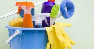 herramientas de los trabajadores del servicio doméstico en Valencia