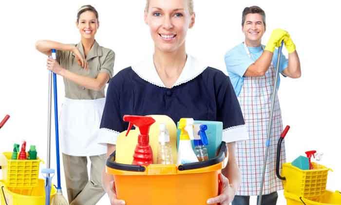 Una de las tareas más comunes de los empleados domésticos es la limpieza del hogar