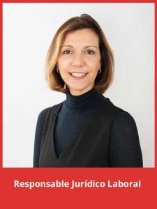 Vanessa Navarro, Responsable jurídico laboral de Atés a Casa.
