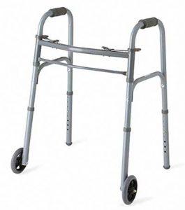 andador de dos ruedas para personas mayores